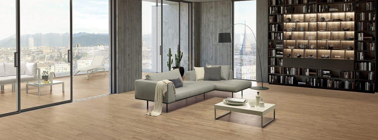 La Fabbrica Ca'Foscari woonkamer met uitzicht